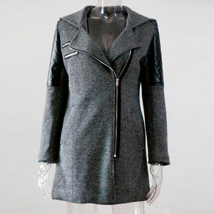 Modern Lady Hooded Coat
