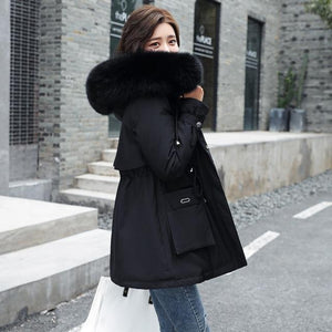 Warm Goals Hooded Parka Jacket