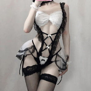 Classical Perspective Erotic Lace Sexy Outfit