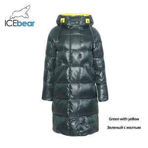 Cushion The Warmth Hooded Coat