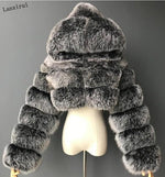 Load image into Gallery viewer, Soft Hearted Faux Fur Jacket
