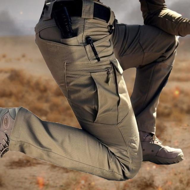 Men Casual Cargo Army Tactical Sweatpants