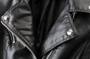 On A Journey Faux Leather Jacket