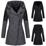 Load image into Gallery viewer, Modern Lady Hooded Coat