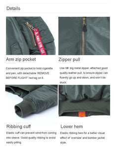Military Tactical Waterproof Bomber Jacket