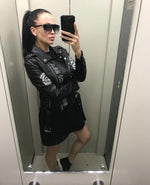 Load image into Gallery viewer, Biker Babe Soft Leather Jacket