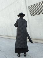 Load image into Gallery viewer, Black Moon Long Padded Coat