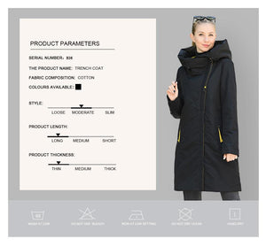 On The Way Windproof Coat