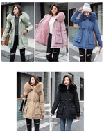 Load image into Gallery viewer, Warm Goals Hooded Parka Jacket