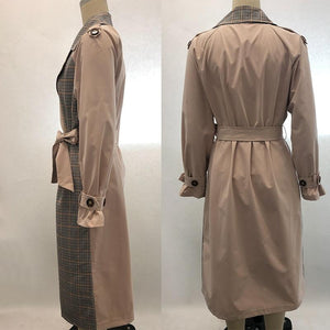 Too Exclusive Long Trench Coat
