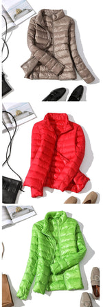 Load image into Gallery viewer, Cool Nights Duck Down Jacket
