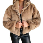 Load image into Gallery viewer, Warmth Never Felt Fur Jacket