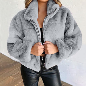 Warmth Never Felt Fur Jacket