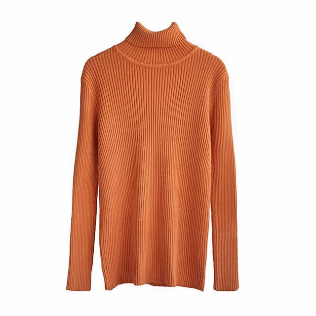 Roll With Me Knitted Turtleneck Sweater