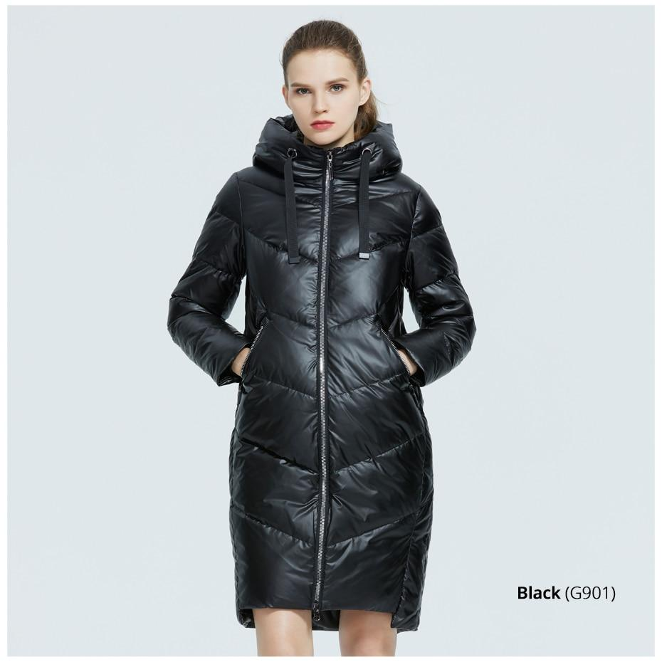 Classy Desires Hooded Padded Coat