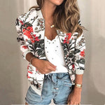 Load image into Gallery viewer, About My Flowers Bomber Jacket