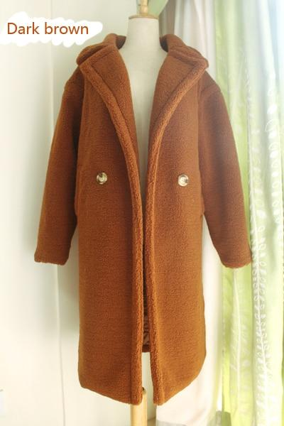 Foreign Winter Long Fur Coat