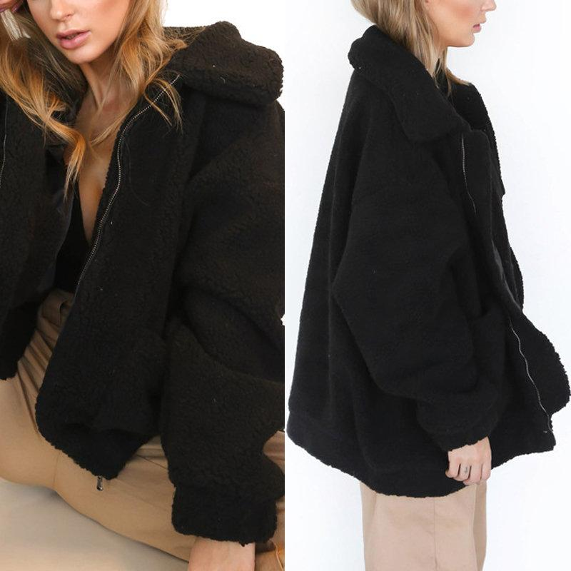 Level Up Faux Fur Jacket