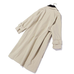 Warm Justice Asymmetrical Trench Coat