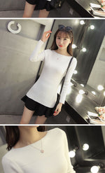 Load image into Gallery viewer, Casual Long Sleeve Autumn Knitted Sweater