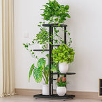 Load image into Gallery viewer, 4 Tier 5 Potted Multiple Flower Pot Holder Stand
