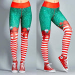 Load image into Gallery viewer, Christmas Holiday Festive Special 3D Print Leggings
