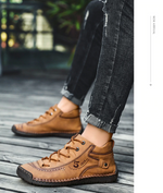 Load image into Gallery viewer, Kapda™ - Vintage Leather Boots
