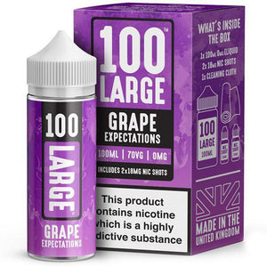100 Large - Grape Expectations E Liquid-Fogfathers