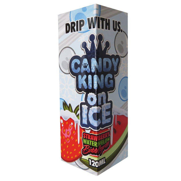 Candy King - Strawberry Watermelon Bubblegum Ice E Liquid-Fogfathers