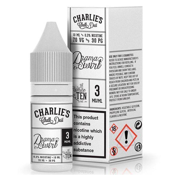 Cosmic Charlies Chalk Dust - Drama Swirl E Liquid-Fogfathers
