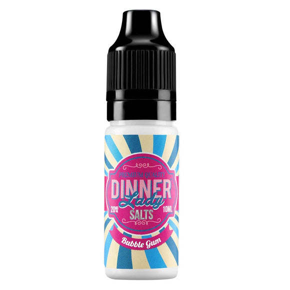Dinner Lady Nic Salts - Bubblegum E Liquid-Fogfathers