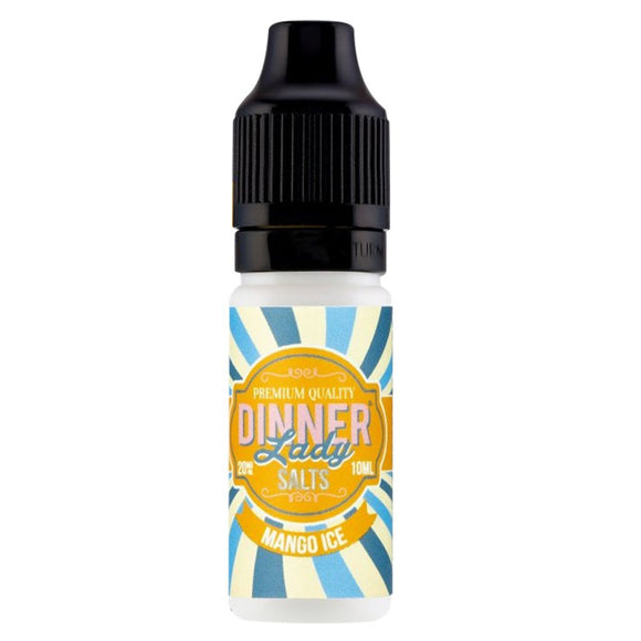 Dinner Lady Nic Salts - Mango Ice E Liquid-Fogfathers