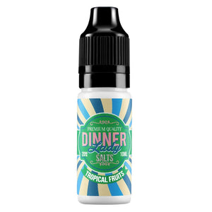 Dinner Lady Nic Salts - Tropical Fruits E Liquid-Fogfathers