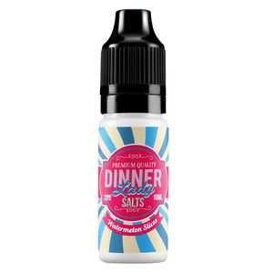 Dinner Lady Nic Salts - Watermelon Slices E Liquid-Fogfathers