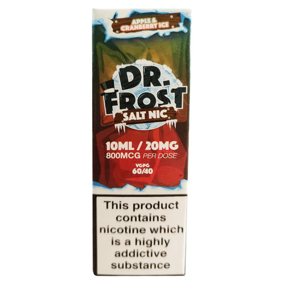 Dr Frost Nic Salts - Apple & Cranberry Ice