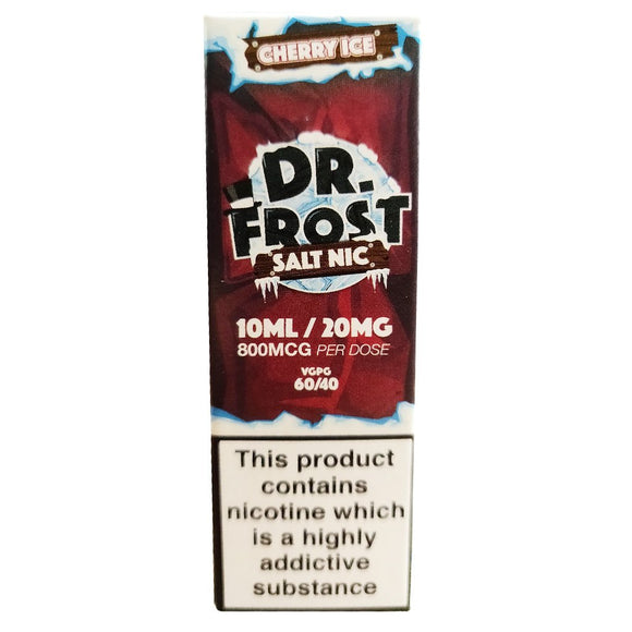 Dr Frost Nic Salts - Cherry Ice
