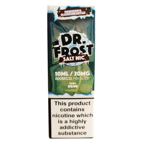 Dr Frost Nic Salts - Honeydew & Blackcurrant Ice