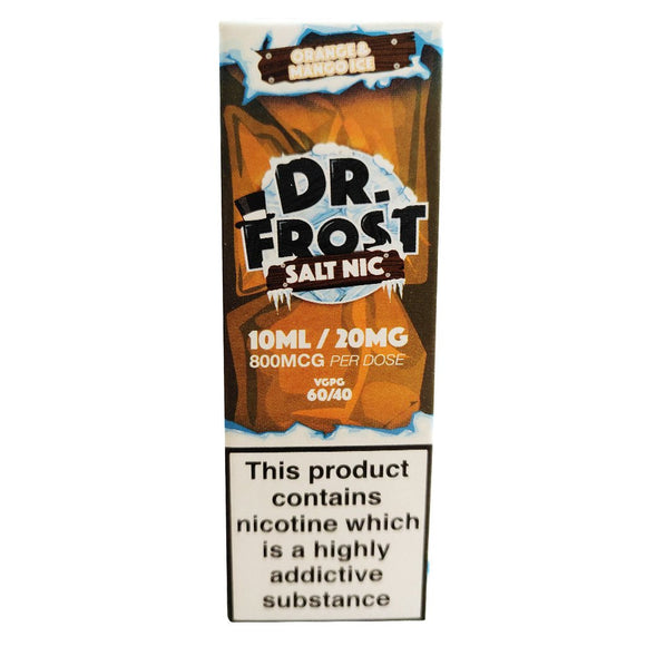 Dr Frost Nic Salts - Orange & Mango Ice