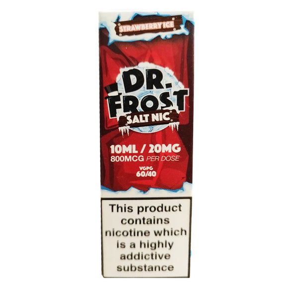 Dr Frost Nic Salts - Strawberry Ice