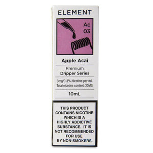 Element - Apple Acai E Liquid-Fogfathers