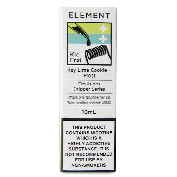 Element Emulsions - Key Lime Cookie Frost E Liquid-Fogfathers