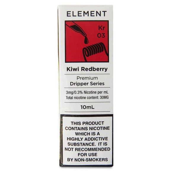 Element - Kiwi Redberry E Liquid-Fogfathers