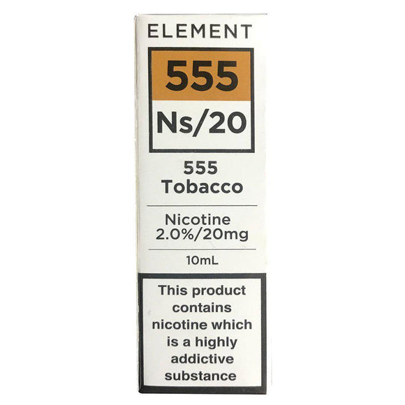 Element Ns20 - 555 Tobacco E Liquid-Fogfathers