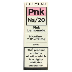 Element Ns20 - Pink Lemonade E Liquid-Fogfathers