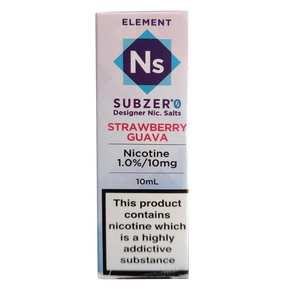 Element Ns20 - Strawberry Guava Sub Zero E Liquid-Fogfathers