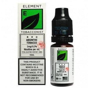 Element Tobacconist - Absinthe Tobacco E Liquid-Fogfathers