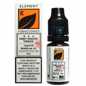 Element Tobacconist - Honey Roast Tobacco E Liquid-Fogfathers