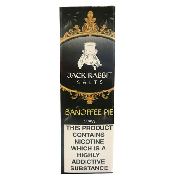 Jack Rabbit Salts - Banoffee Pie E Liquid-Fogfathers