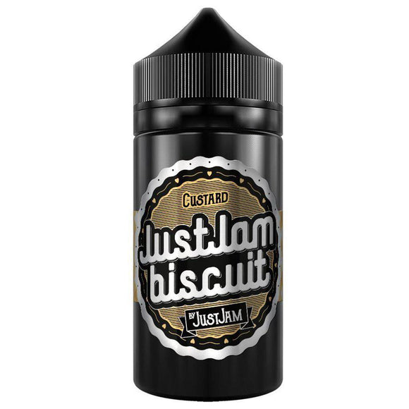 Just Jam Biscuit - Custard E Liquid-Fogfathers