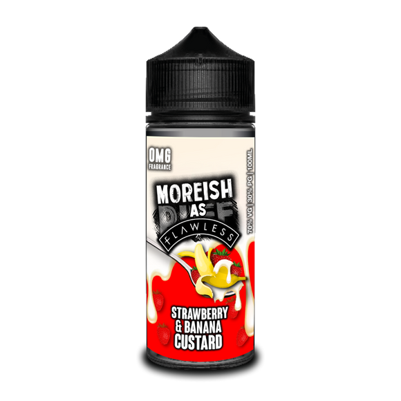 Moreish Puff - Strawberry Banana Custard